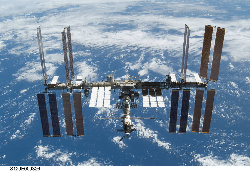 Whee! Space Station makes its 100,000th orbit