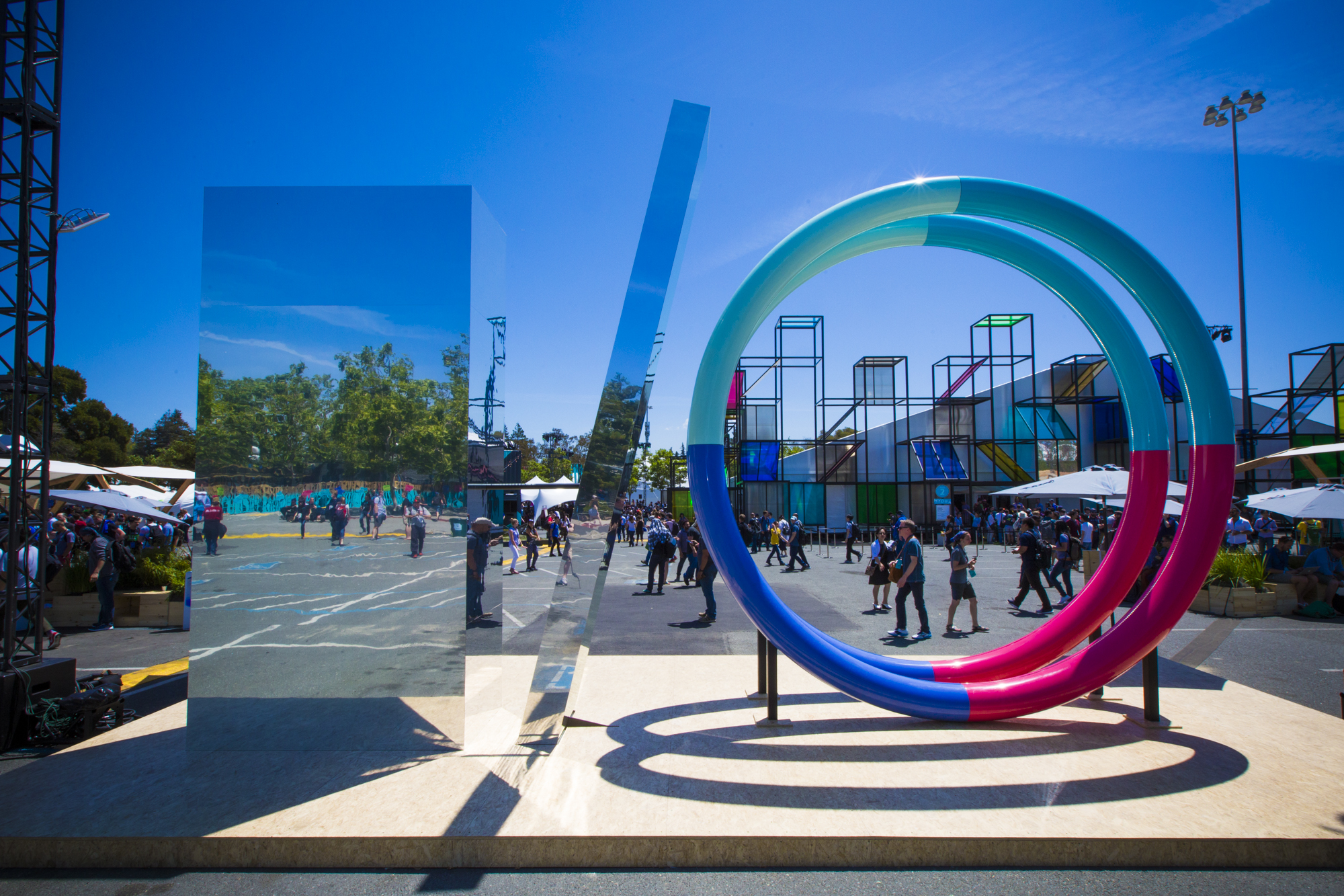 From nerd heaven to Coachella Lite: Google I/O has changed