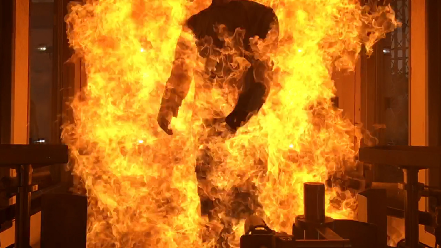 DuPont tries to burn a flame-resistant suit, and it is glorious
