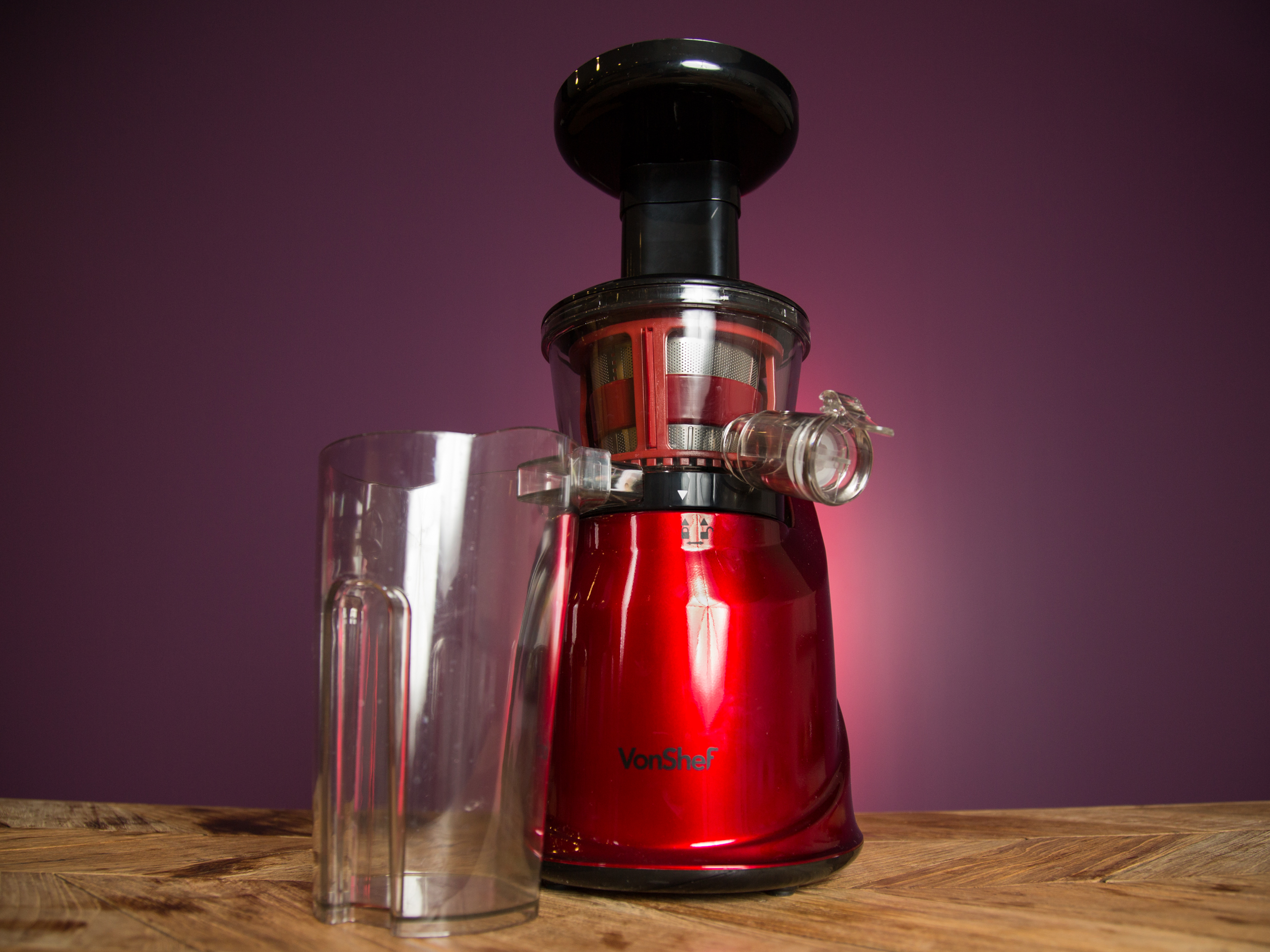 vonShef Premium Slow Masticating Juicer review - OmniFeed