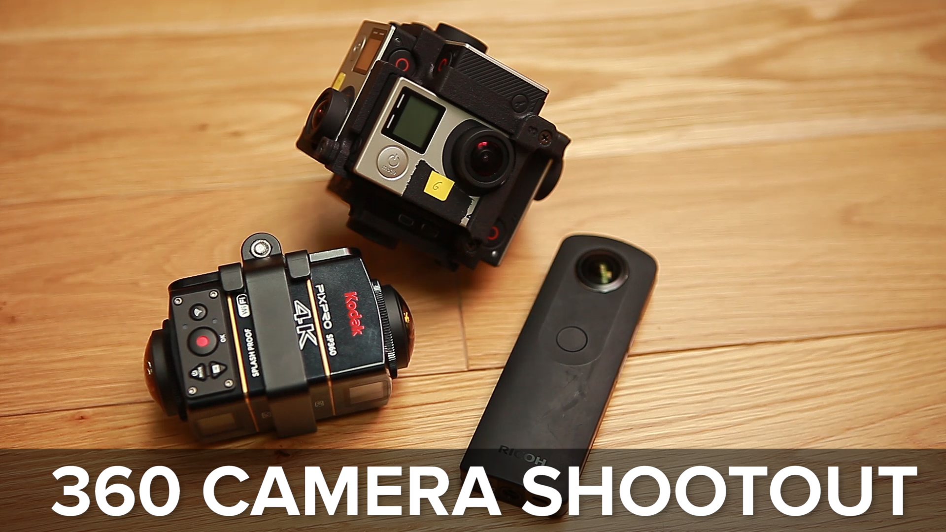 Video: GoPro, Pixpro, or Ricoh? Finding the best 360 camera