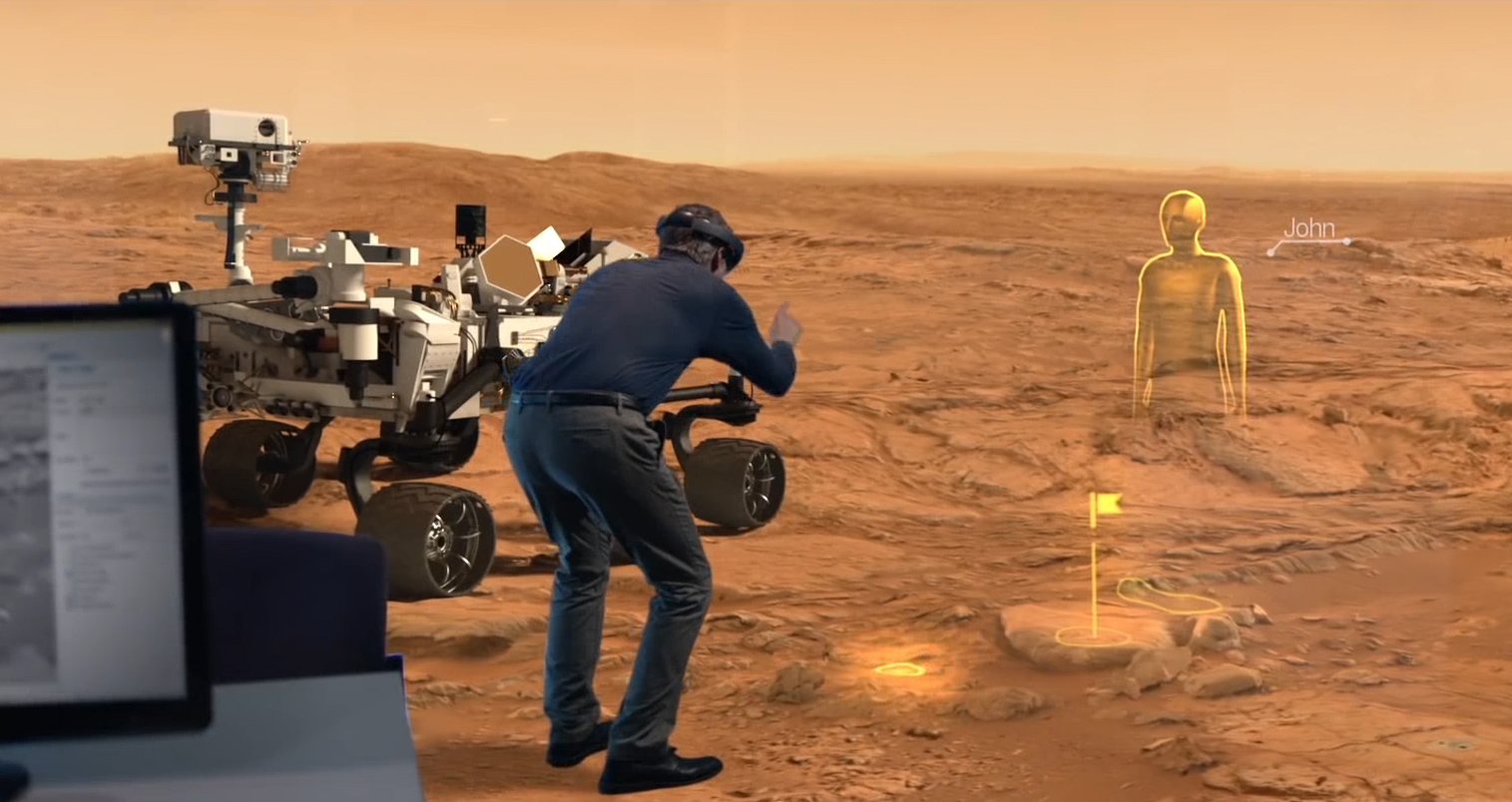 Video: NASA is using HoloLens to explore Mars (Tomorrow Daily 369)