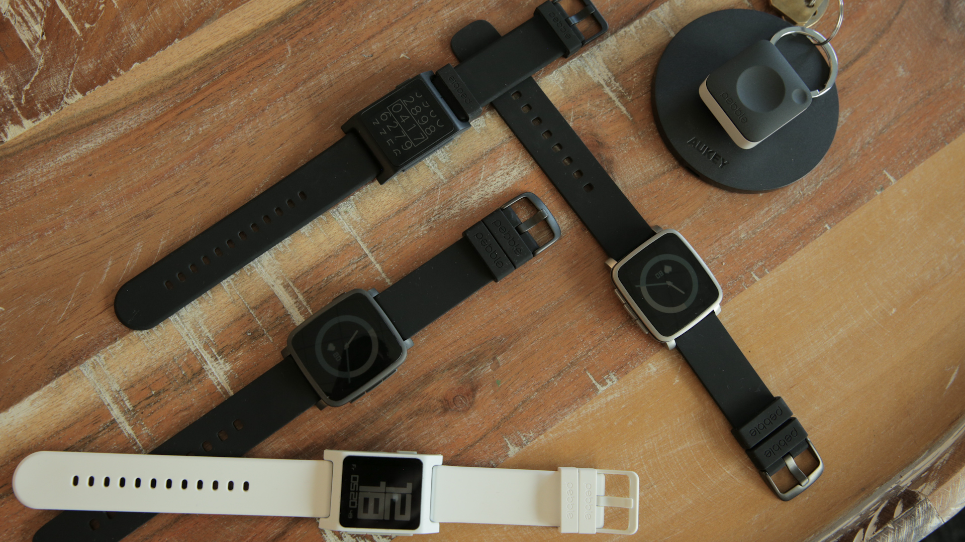 Video: Pebble unveils two new smartwatches and a wearable not meant for your wrist