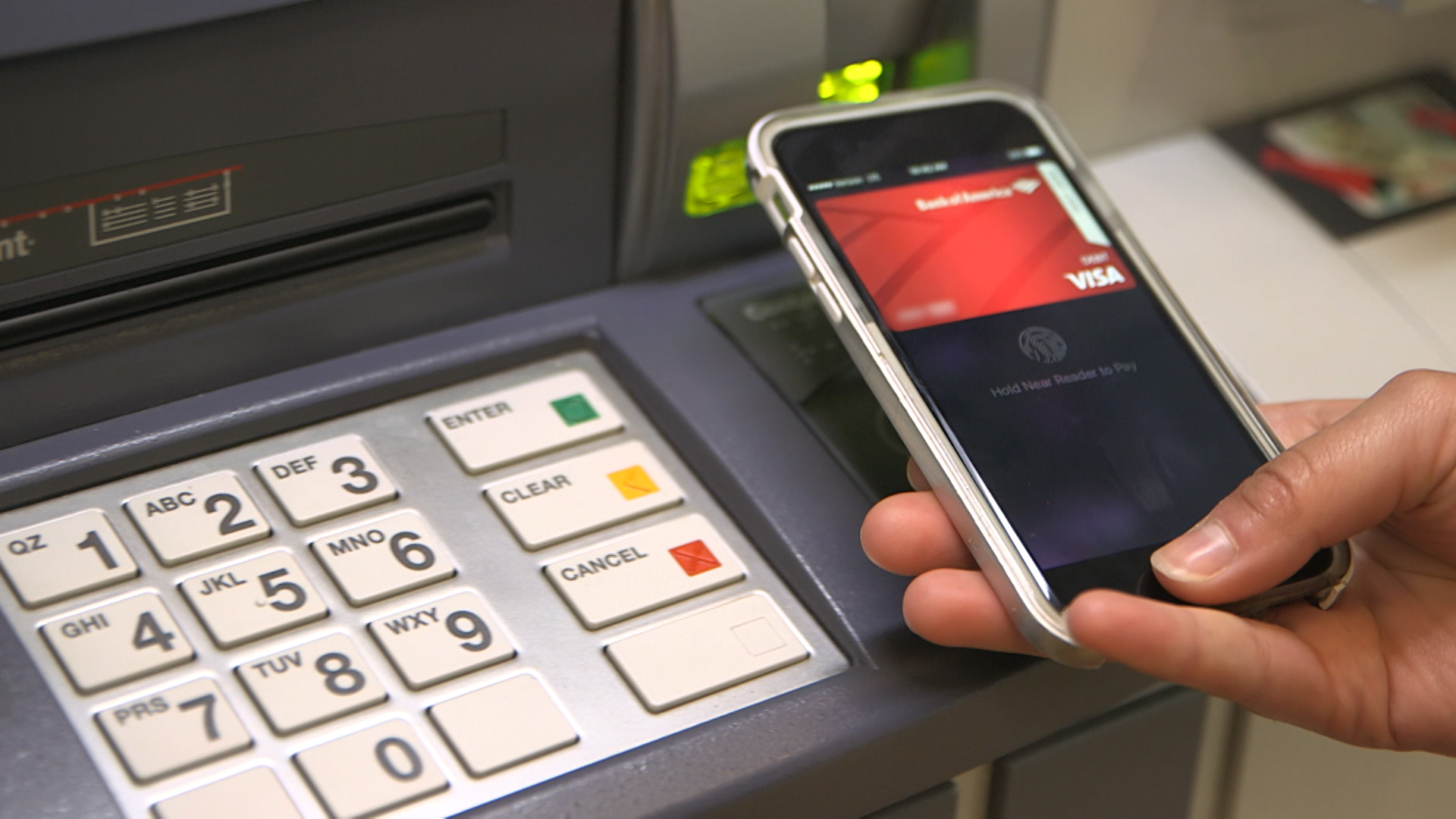 Video: Use your phone instead of a card at the ATM
