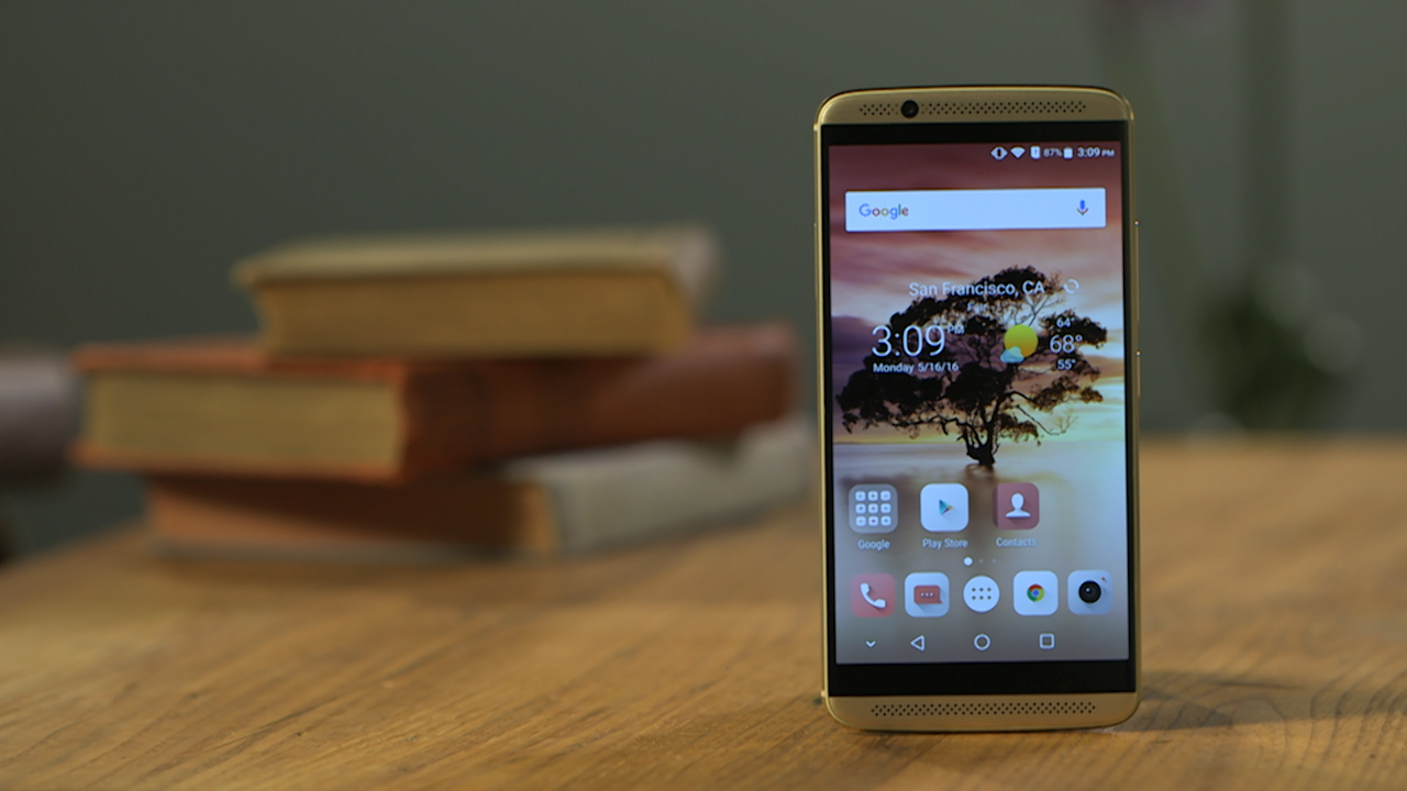 Video: ZTE gets luxe with Axon 7 phone