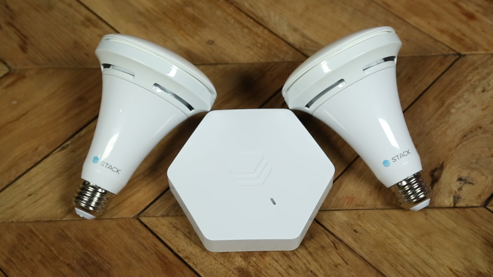 Stack's sensor-enabled smart bulbs left us impressed