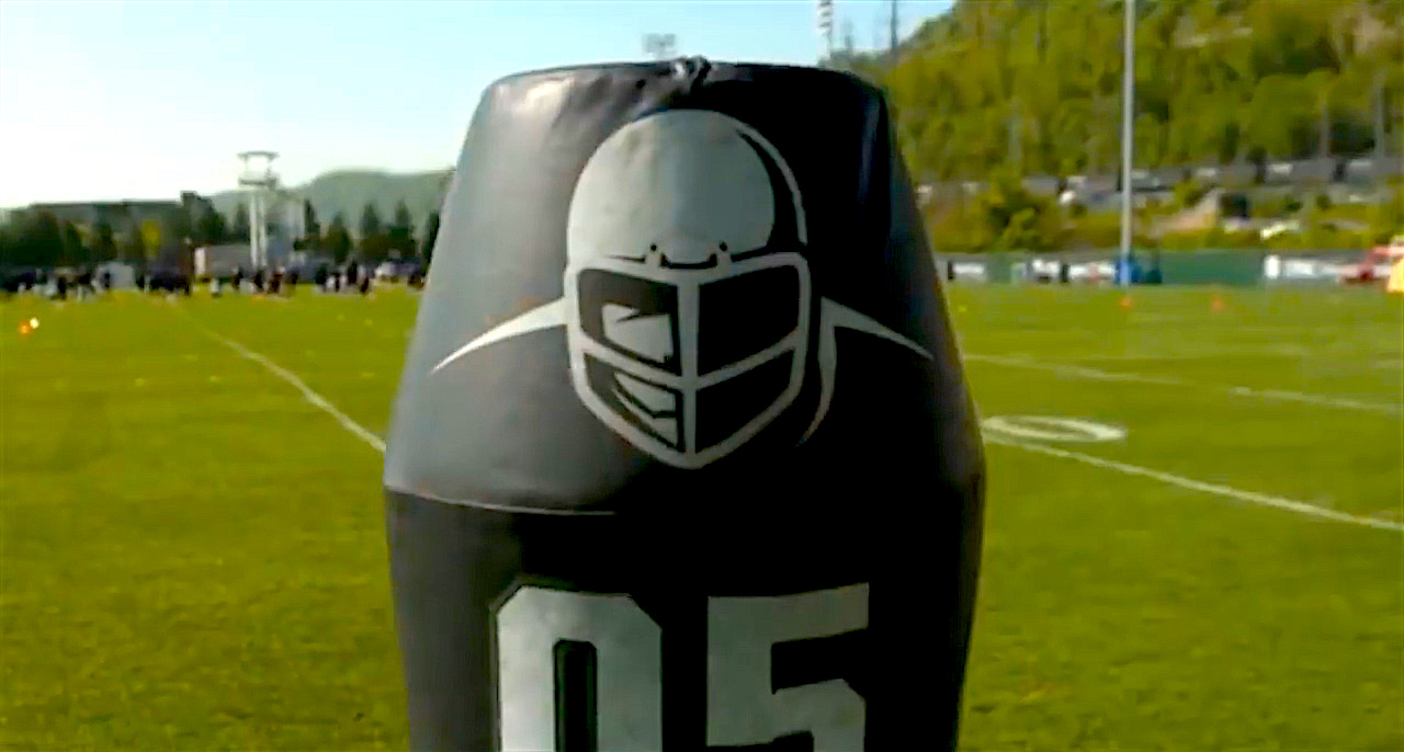 Video: Pro football team testing robots in tackling drills (Tomorrow Daily 371)