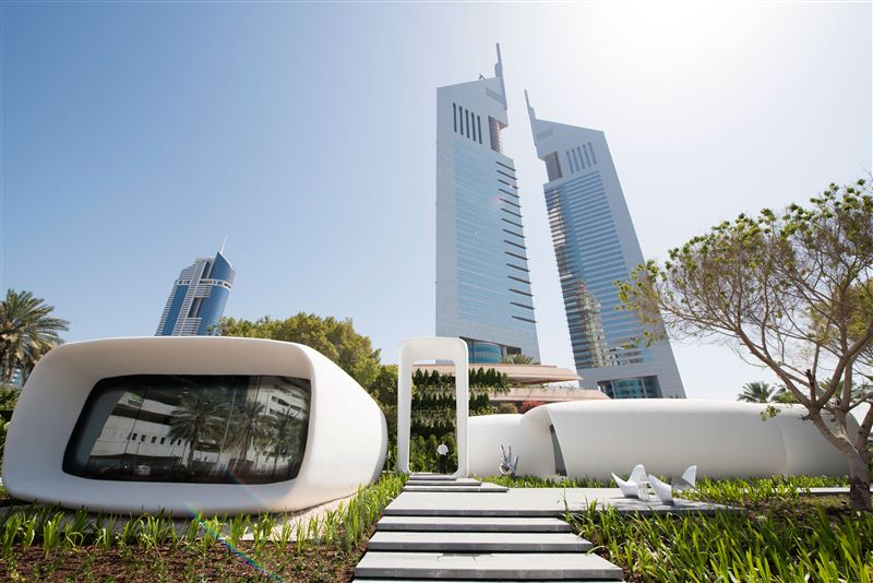Dubai unveils world's first 3D-printed office building