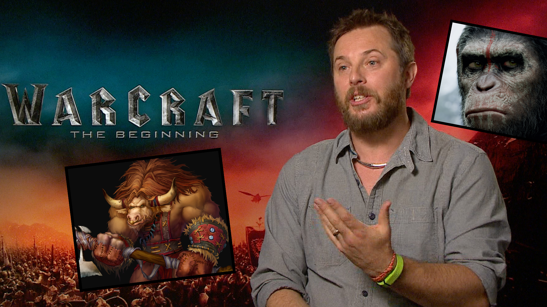 Video: 7 geeky questions for 'Warcraft' director Duncan Jones
