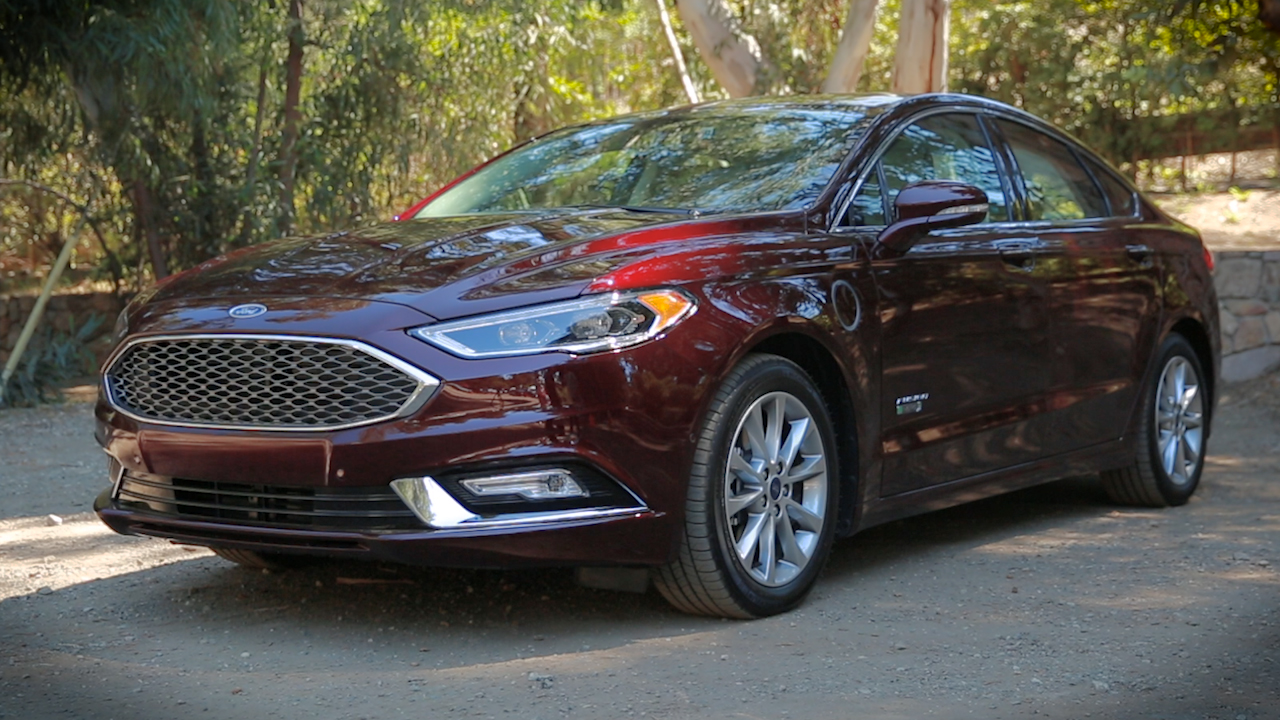 Video: On the road: 2017 Ford Fusion