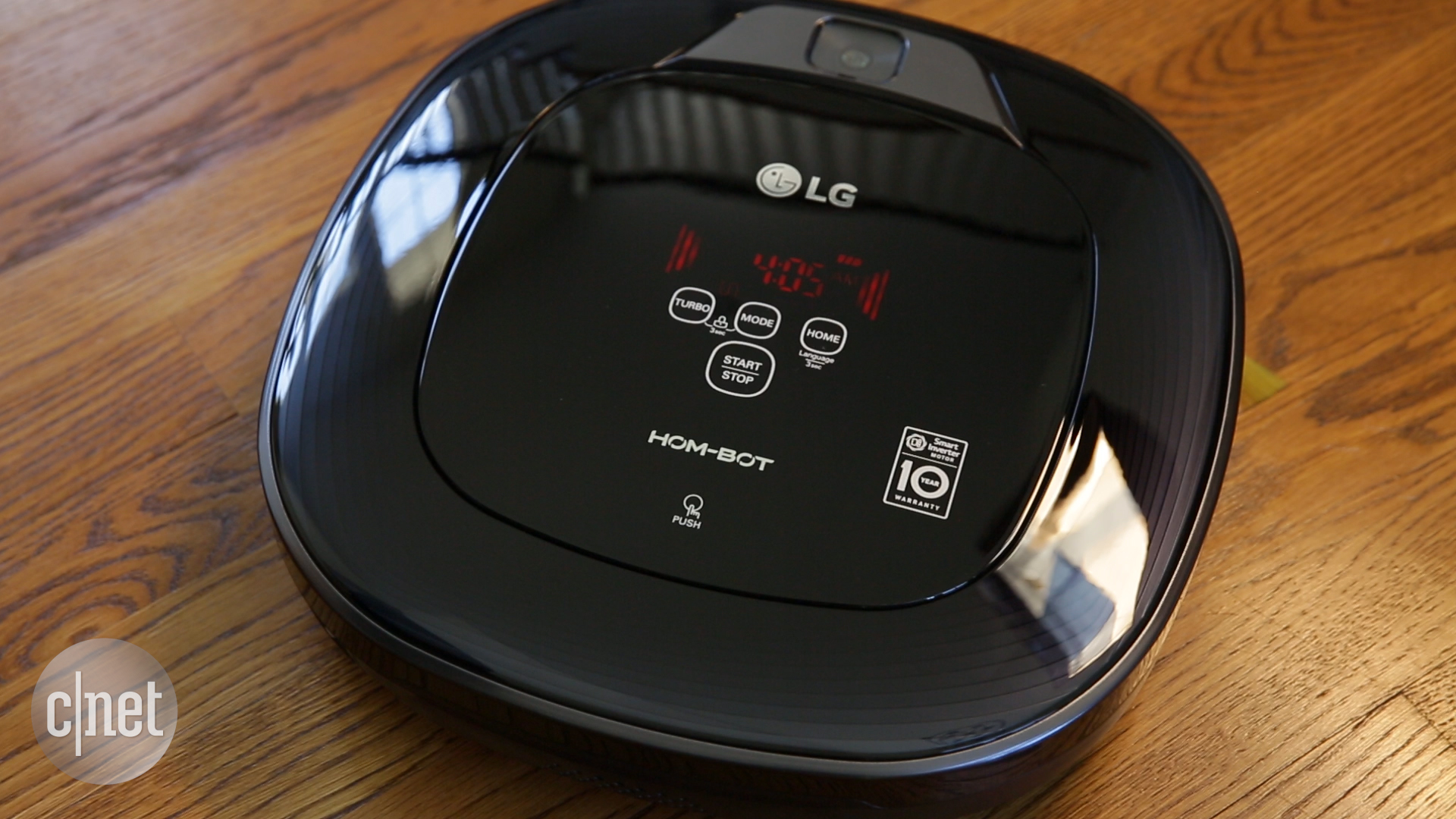 Video: The LG Hom-Bot Square can't outclean the competition