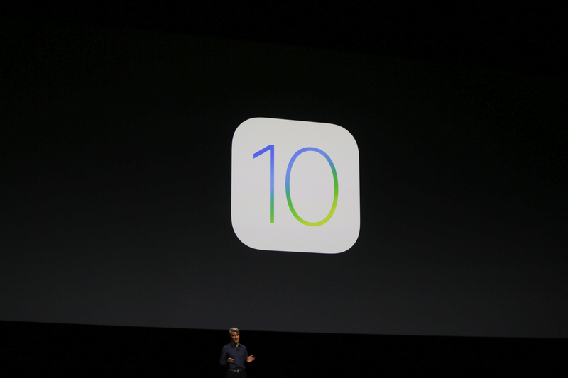 <p>iOS 10 being introdued at WWDC 2016.</p>