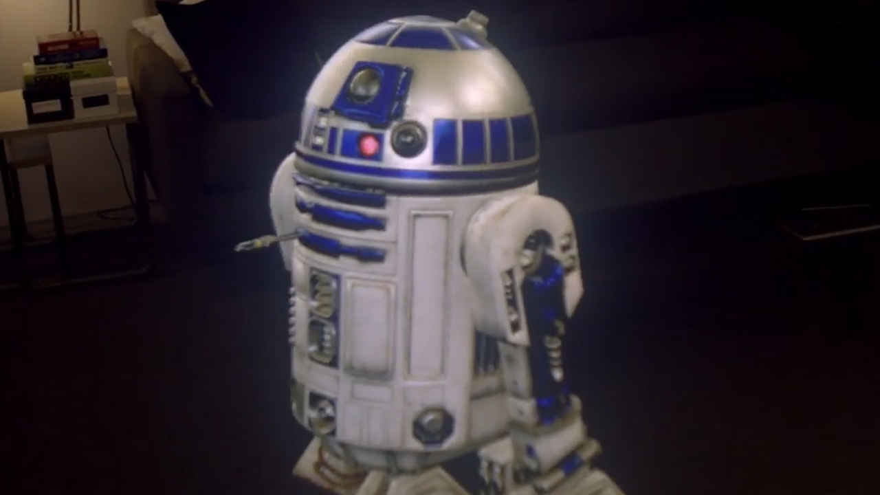 Video: Hang out with R2-D2 in your living room
