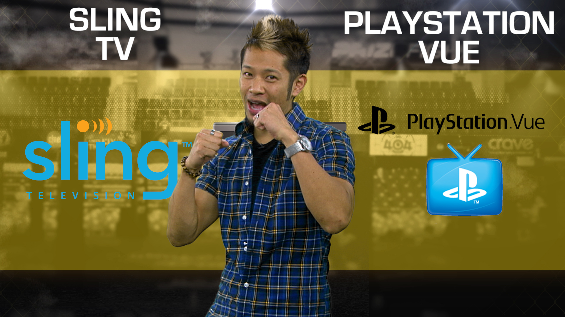 Video: Sling TV vs. PlayStation Vue: 1 year later