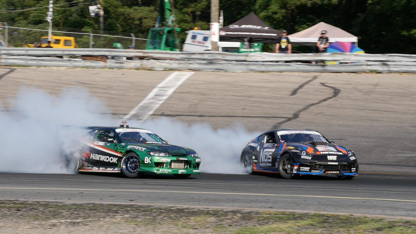 Video: Formula Drift New Jersey: Behind the scenes
