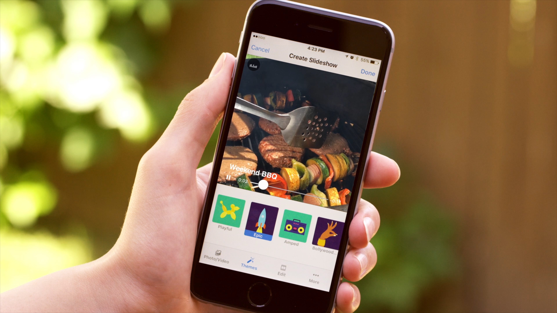 Video: Facebook app builds slideshows for you