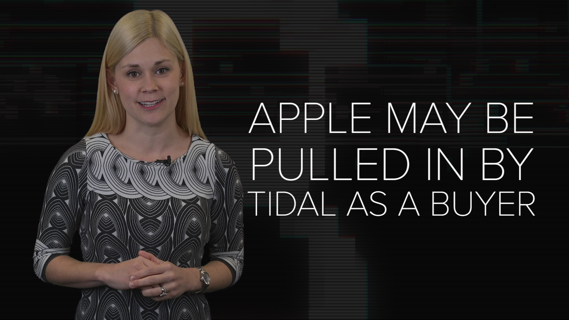 Video: Apple may be pulled in by Tidal as a buyer