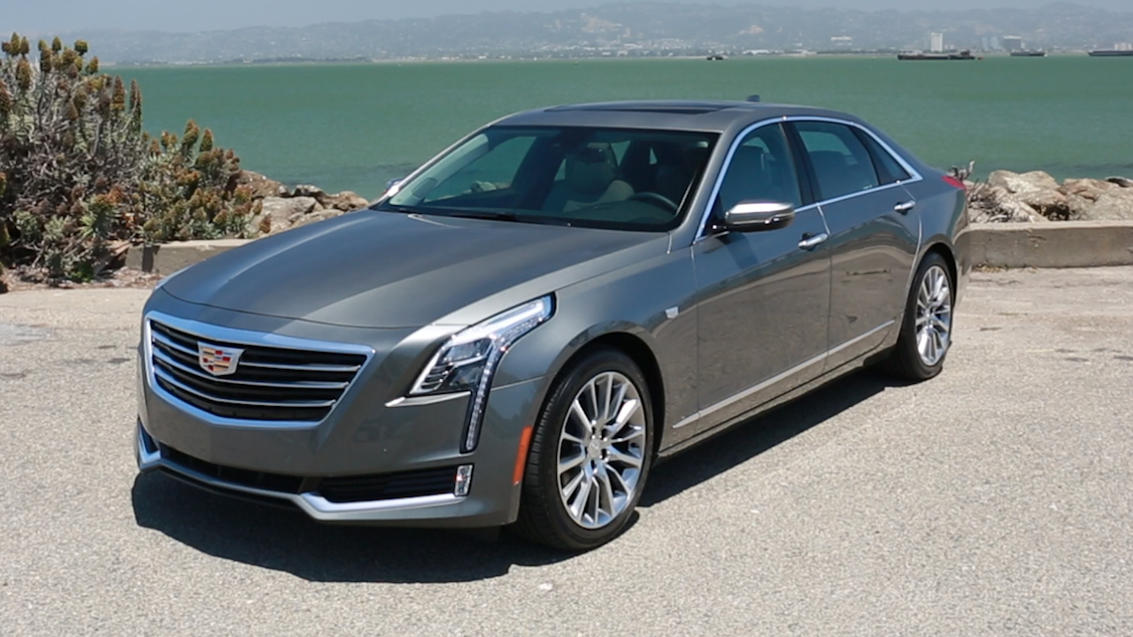Video: Cadillac CT6 sets a new course, without a wreath (CNET On Cars, Episode 93)