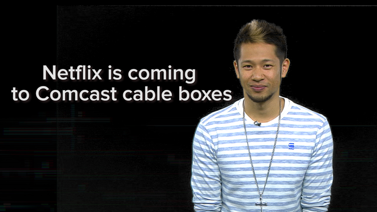 Video: Netflix is coming to your Comcast cable box this year