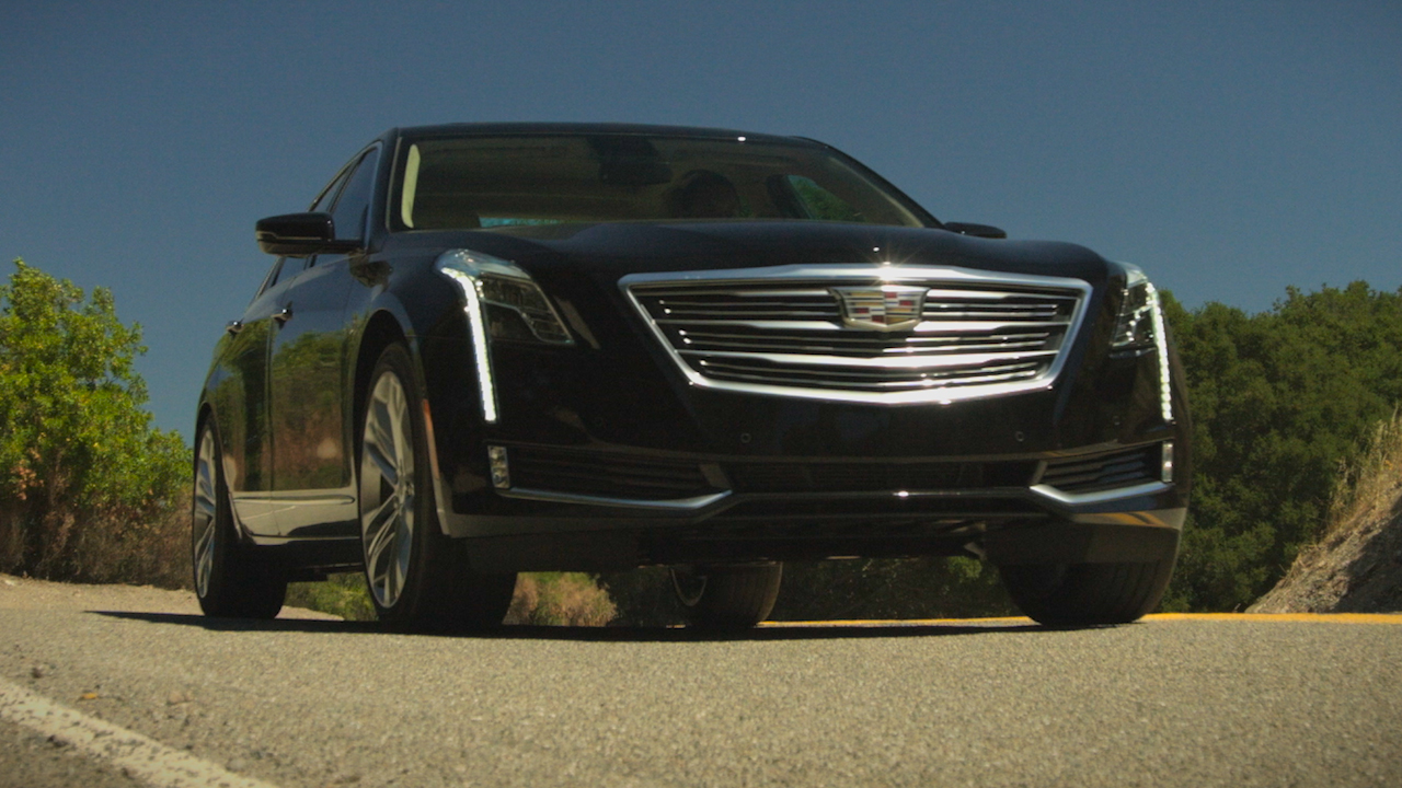 Video: On the road: Cadillac CT6