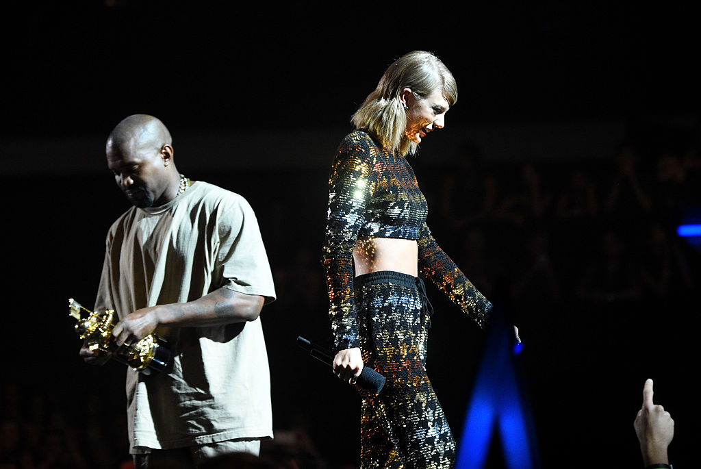 Kim Kardashian Reveals Footage Of Taylor Swift Approving Kanye Wests' 'Famous' Lyrics