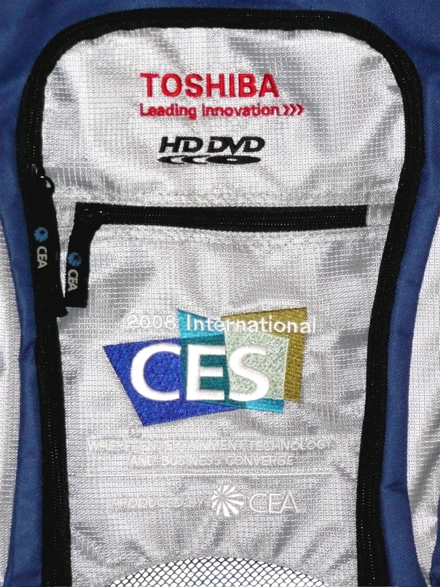 The CES 2008 tote bag