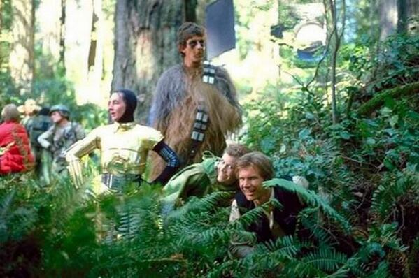 Watch out for Ewoks!