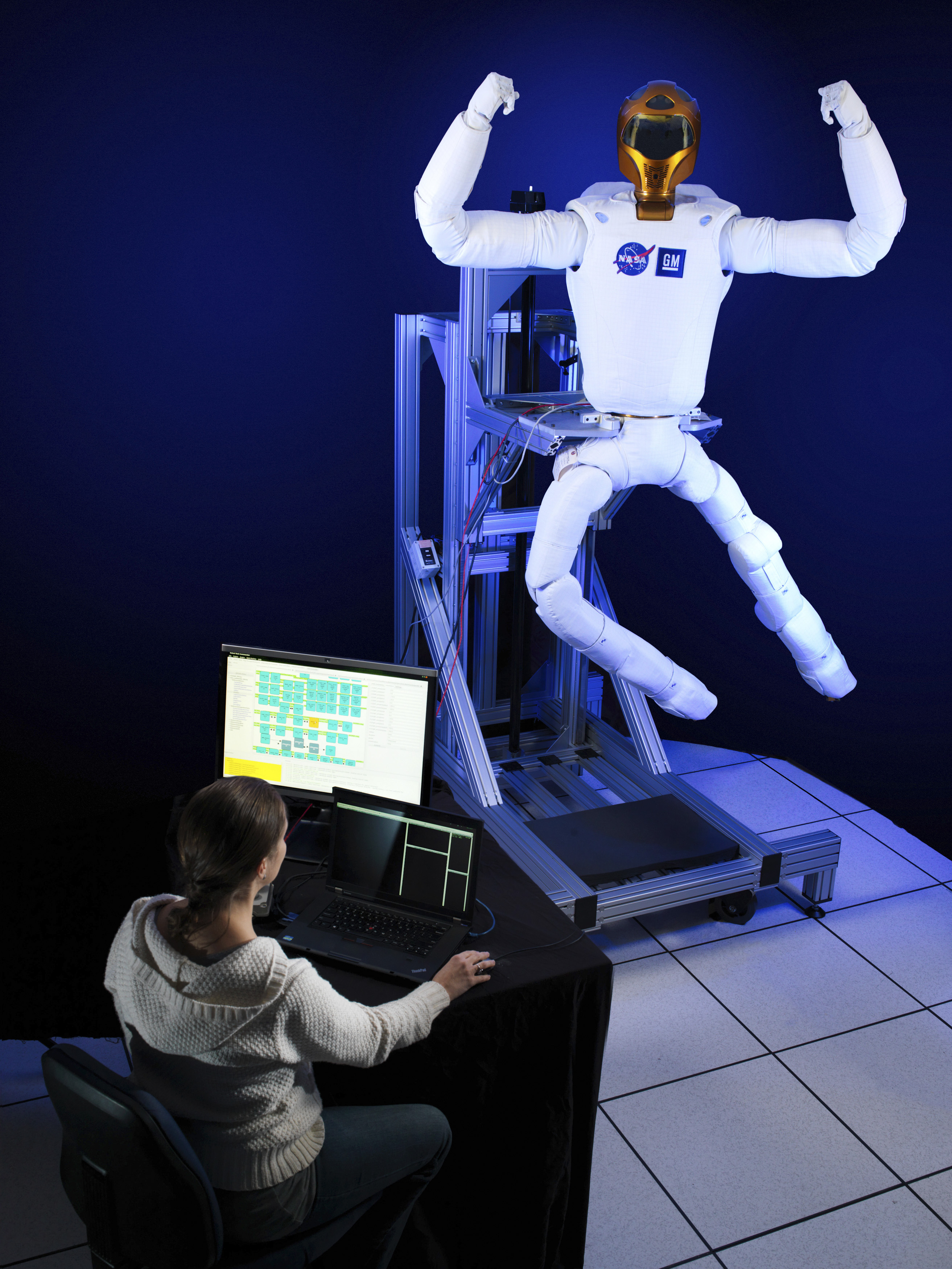 Robonaut 2: I can fly!