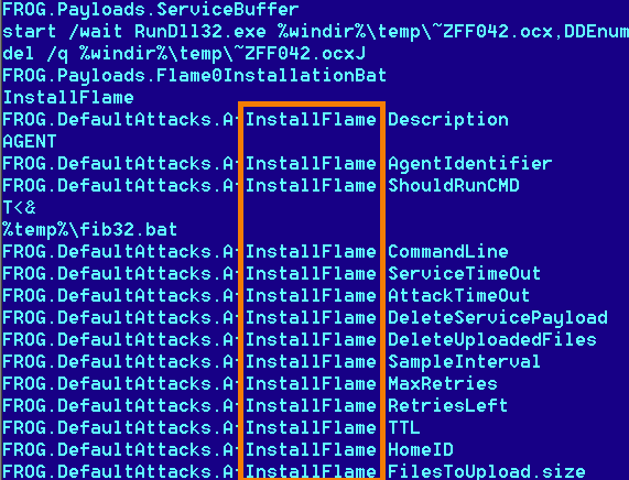 The new Flame malware that has infected computers in Iran and the Middle East is named after one of the main modules it uses to spread.
