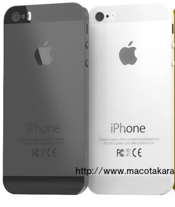 iPhone 5S with redesigned LED flash, according to Japanese site Macotakara.
