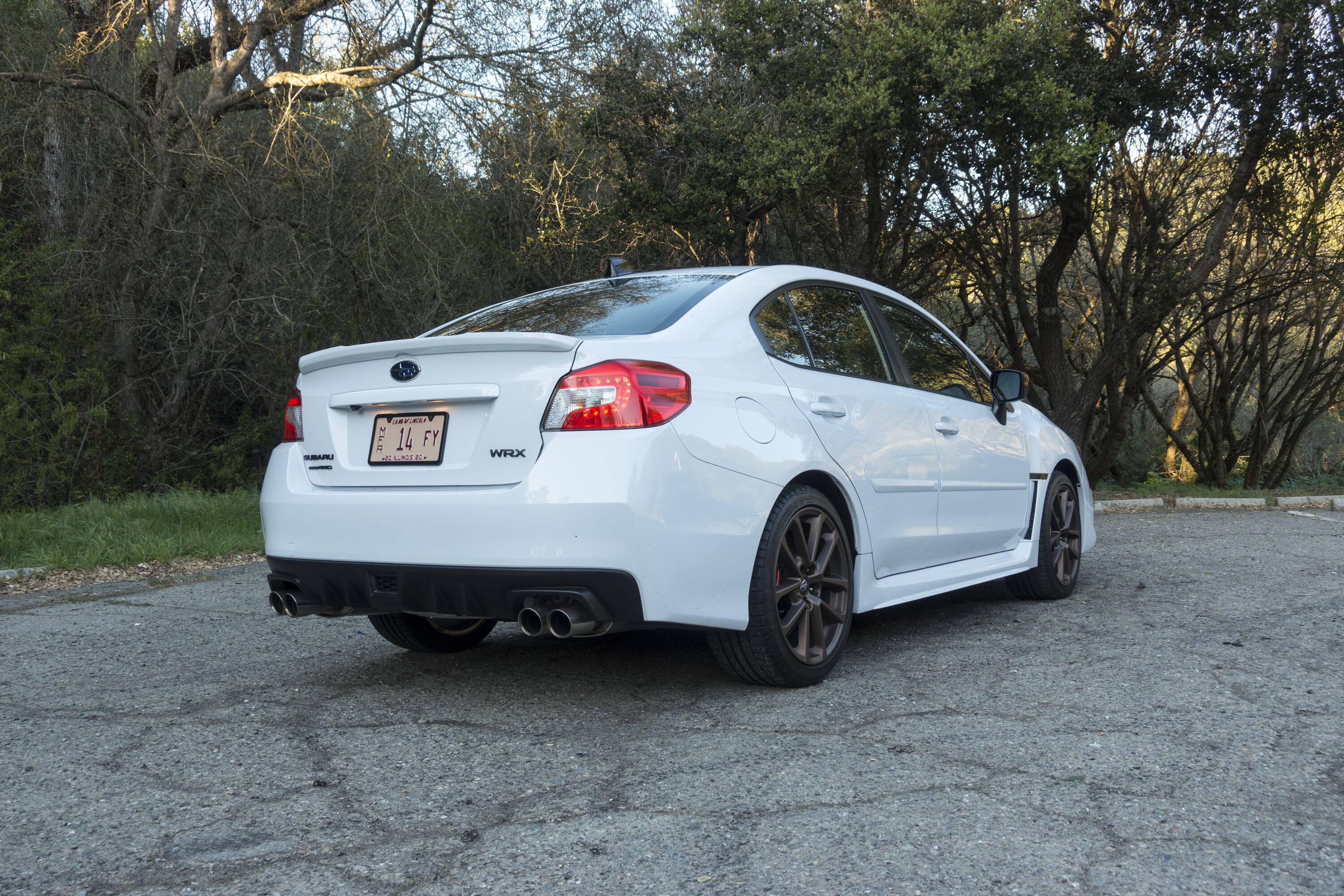 2020 Subaru WRX Series White