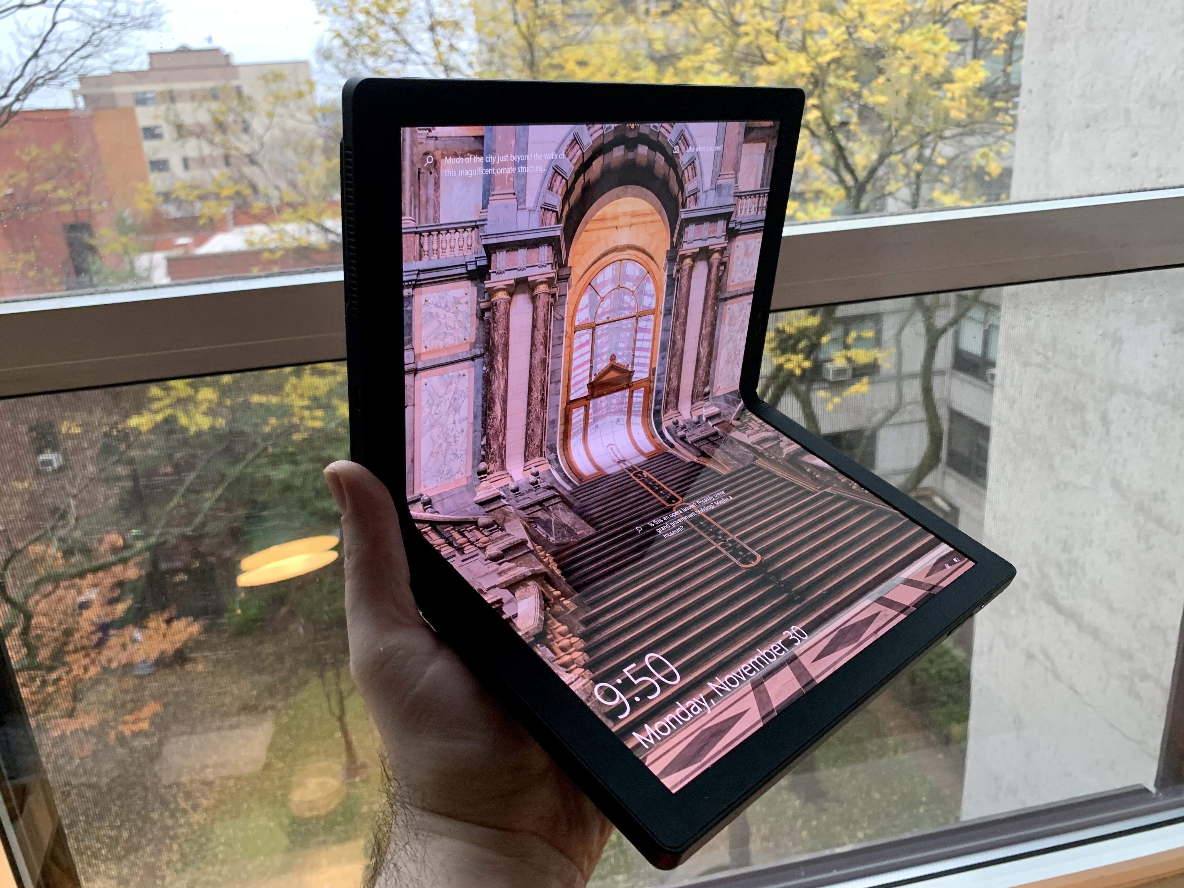 Lenovo X1 Fold hands-on: A first step toward the next big thing in PCs