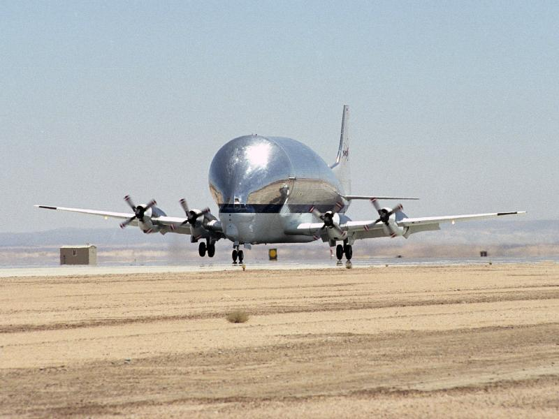Delivering the X-38 to Dryden
