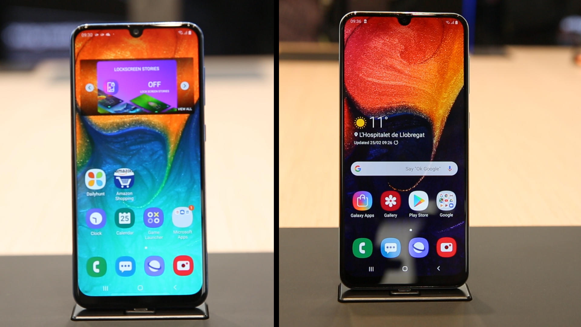 Video: Snap serious selfies with Samsung's Galaxy A30 and A50