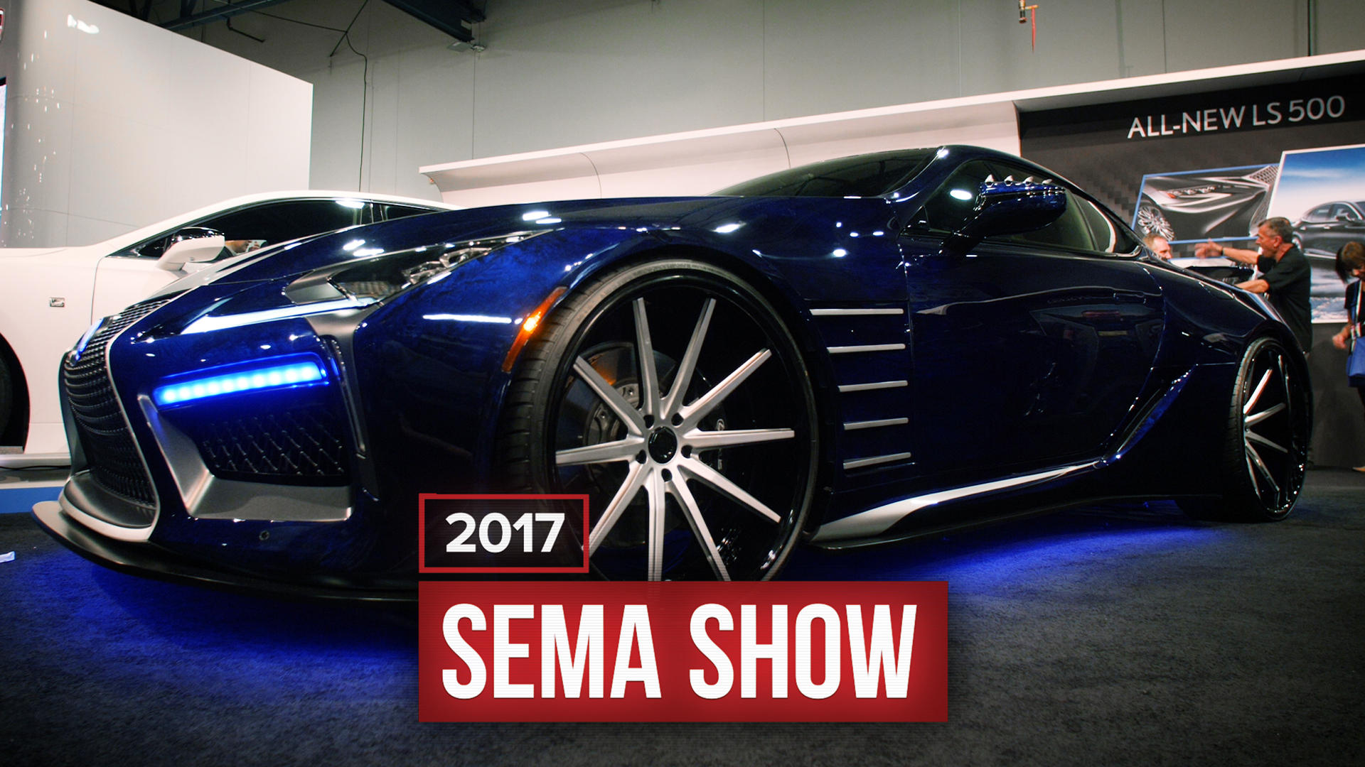 Video: Lexus shows off a gorgeous Black Panther-inspired LC 500 at SEMA