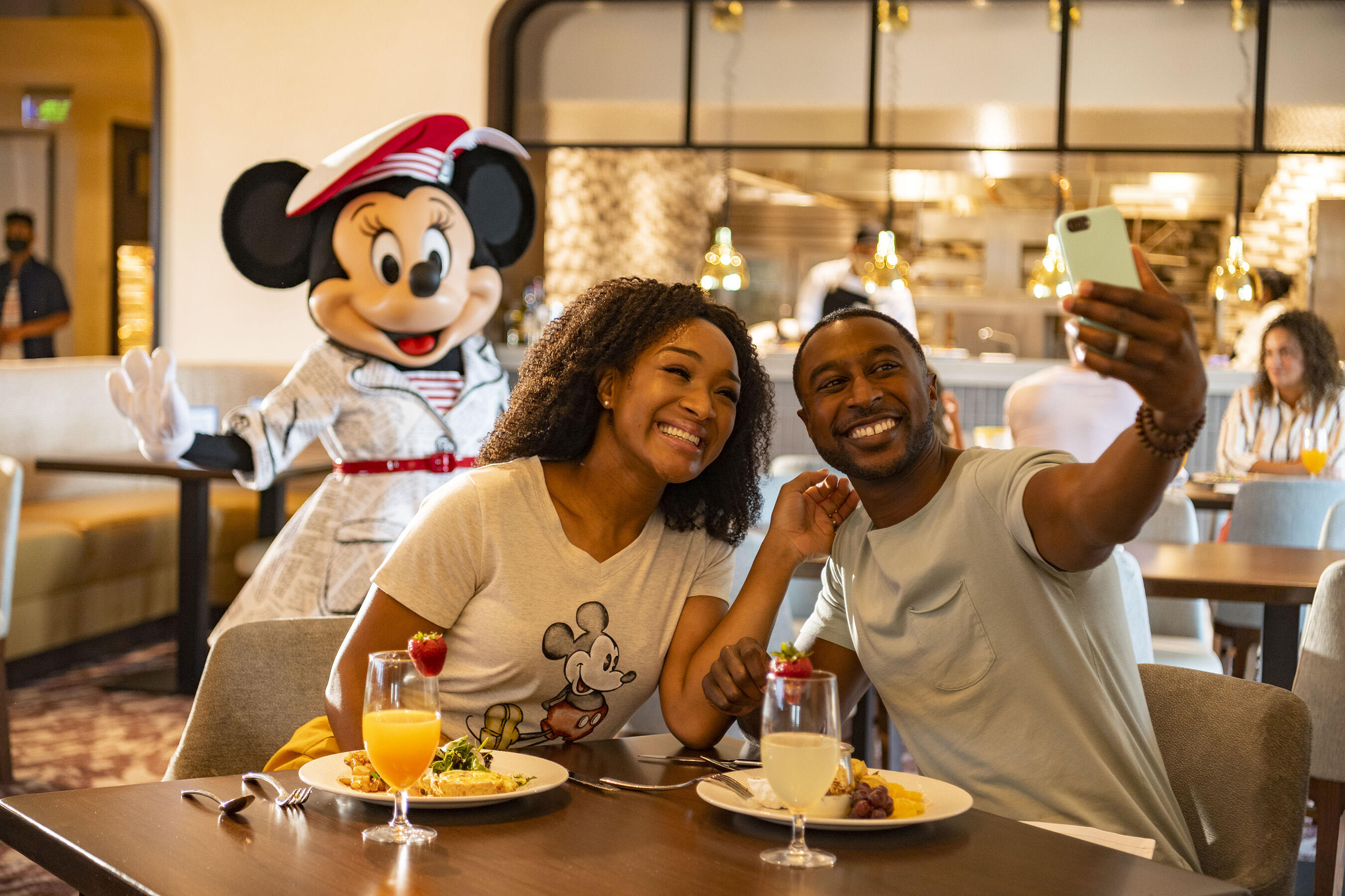 Disney World reopening character dining Topolinos Terrace