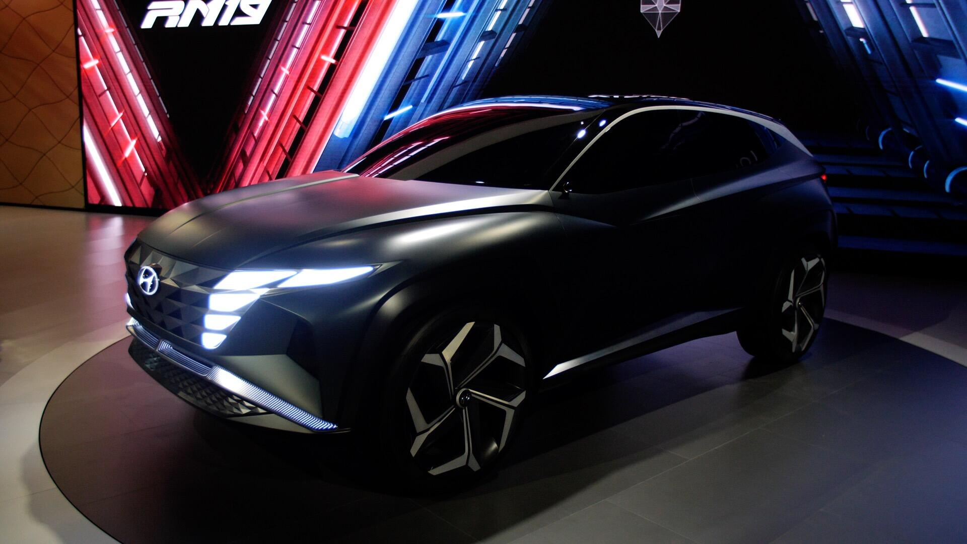 Video: Hyundai's Vision T concept looks towards the next Tucson at the LA Auto Show