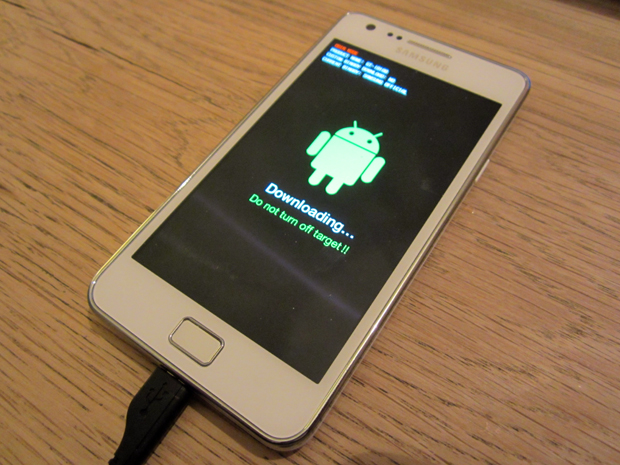 Android OS recovery - download mode
