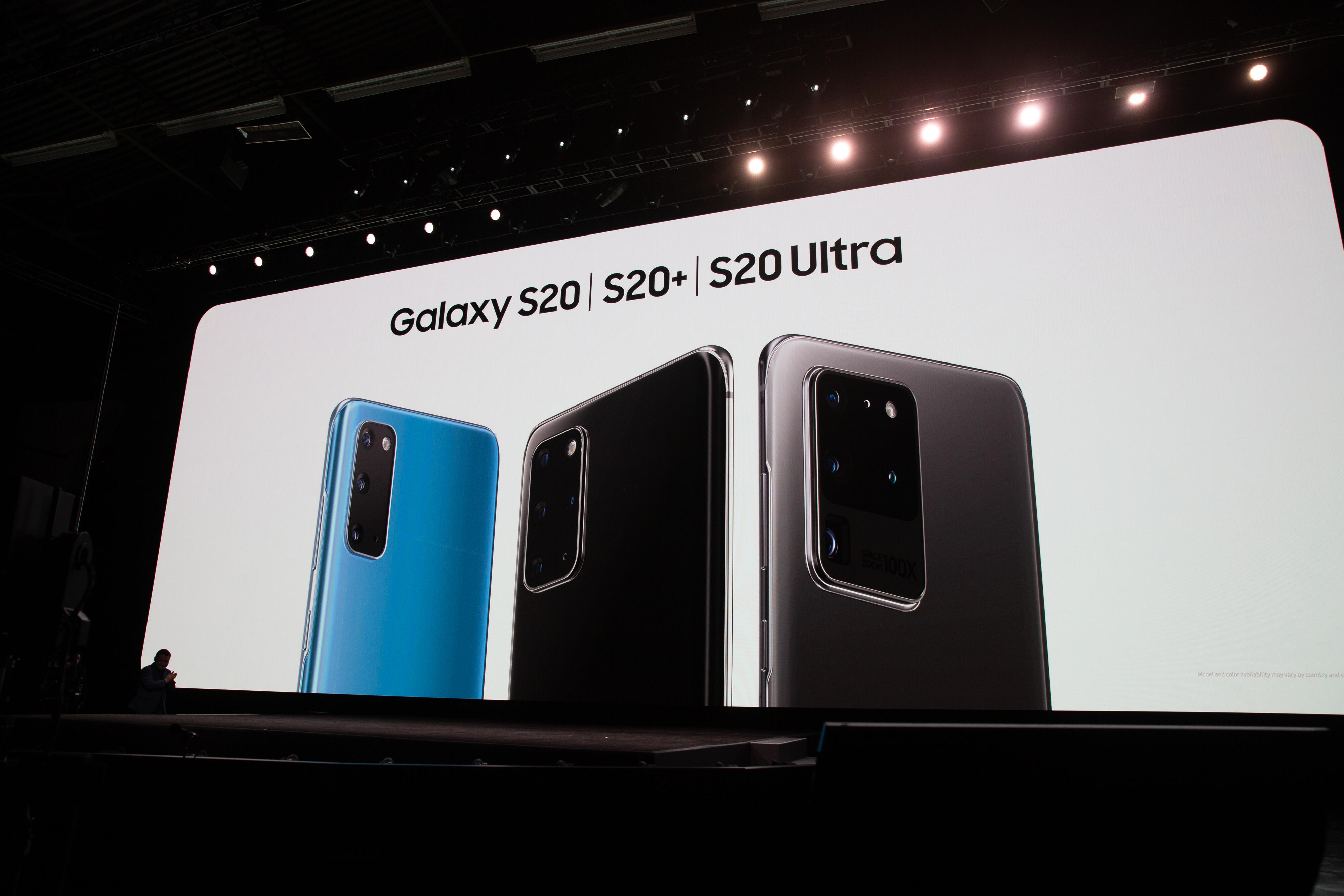Galaxy S20, S20 Plus and S20 Ultra