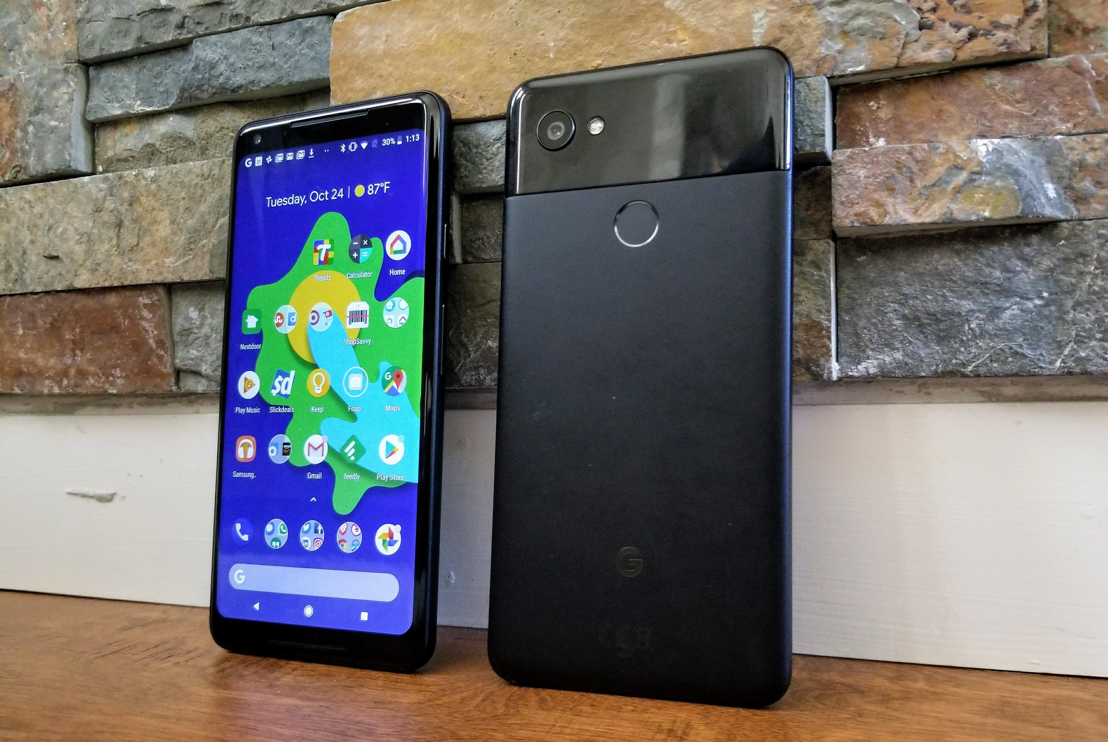 The Google Pixel XL, a 5.5-inch Android phone, has a top-shelf camera and built-in Google Assistant abilities.