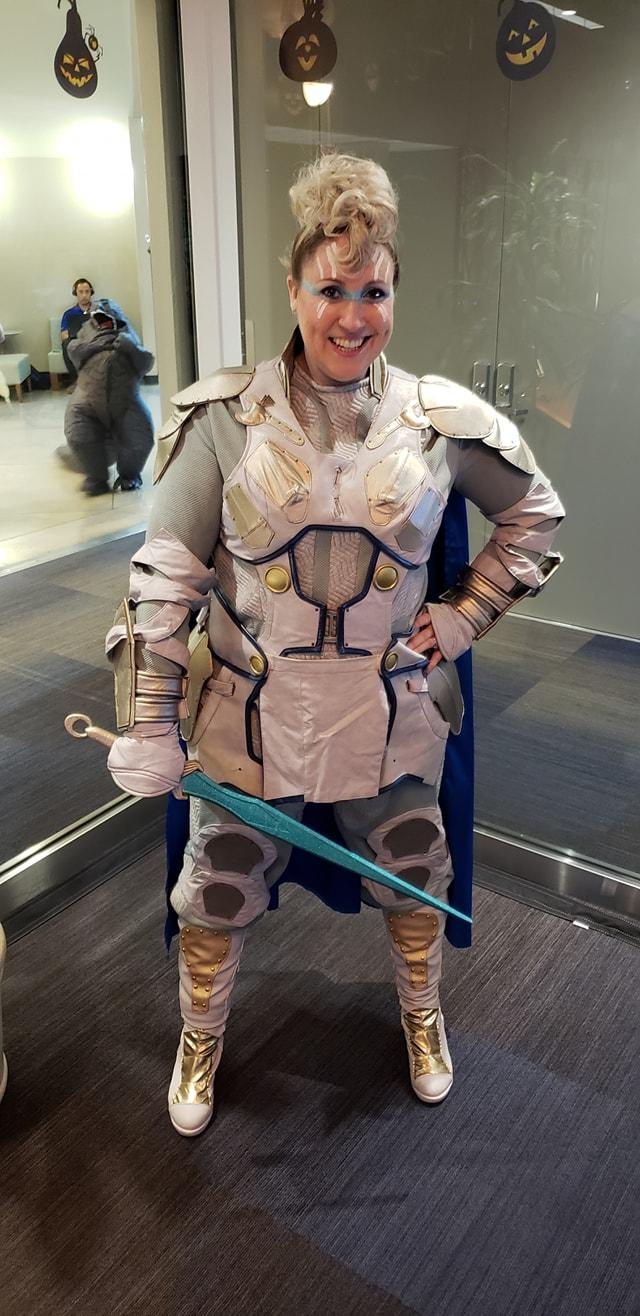 The fierce Valkyrie is in the house!