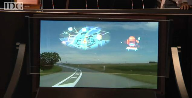 Pioneer's prototype HUD could make it to the market as an aftermarket product or as an OEM option.