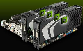 Nvidia SLI technology supports multiple graphics boards