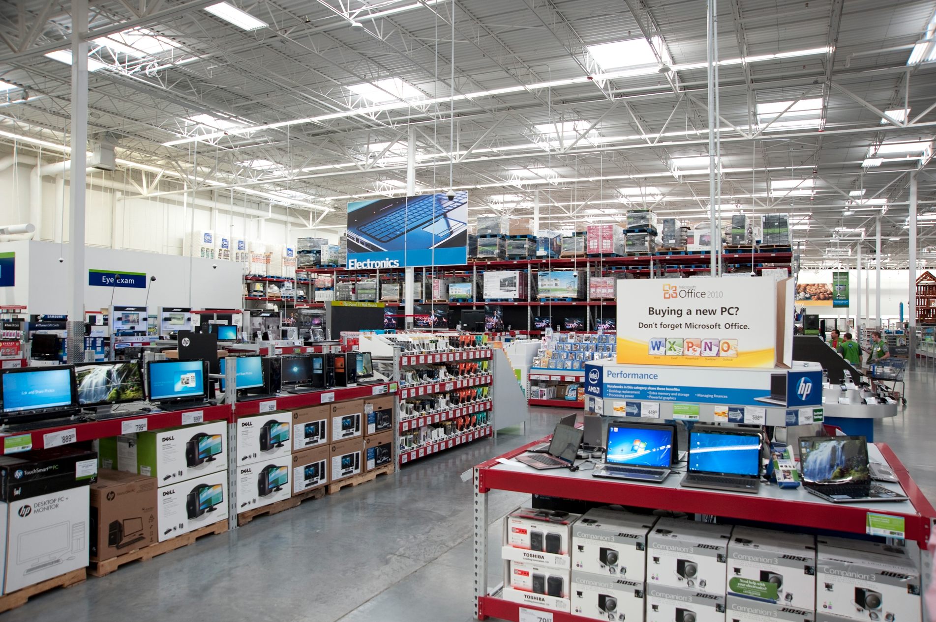 The electronics department at Sam's Club, soon to get more Apple gear?