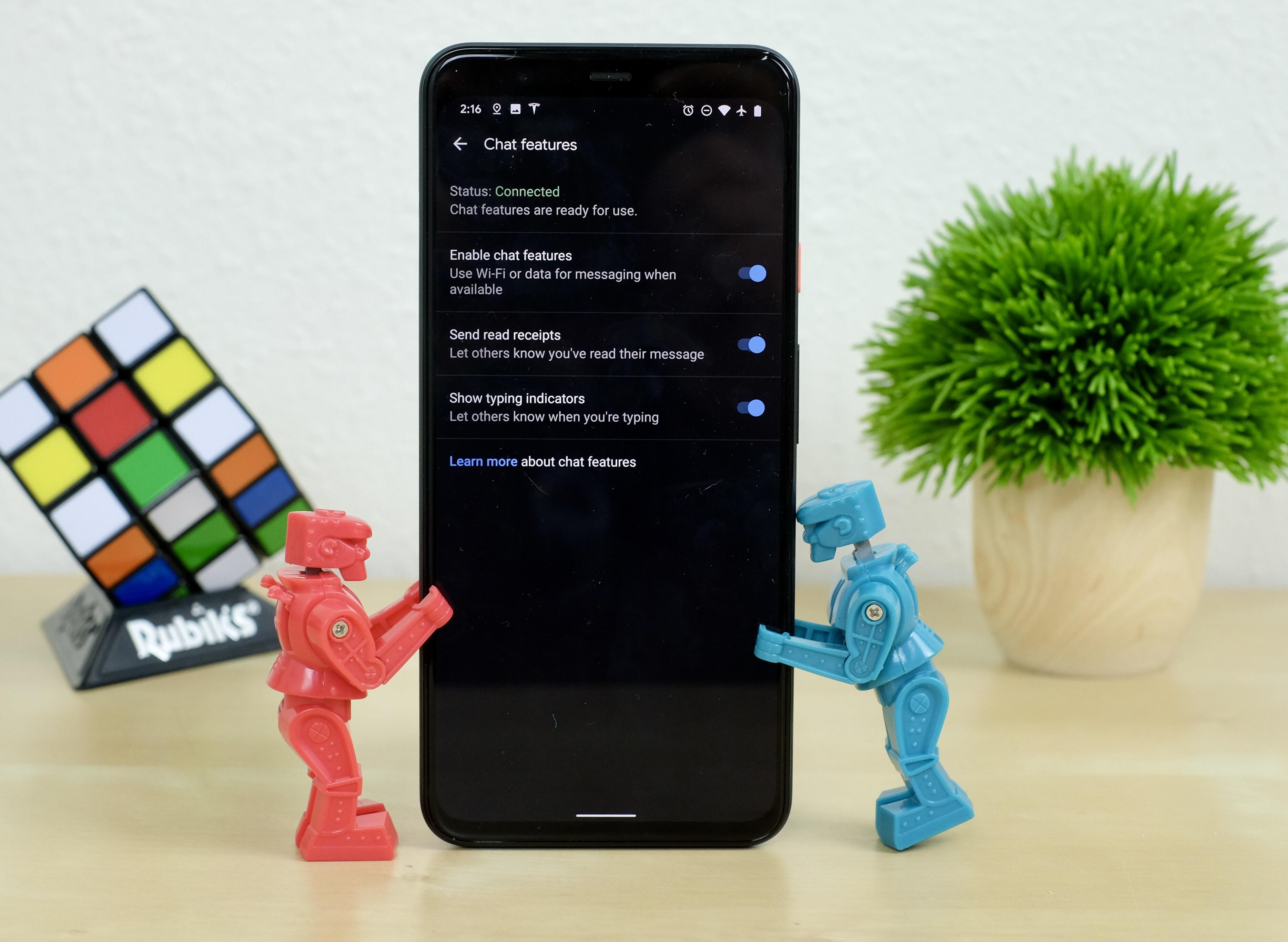 chat-feature-enabled-on-pixel-4-xl