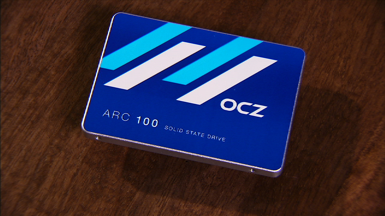 Video: The OCZ ARC100 is a lot more affordable than it is slow.