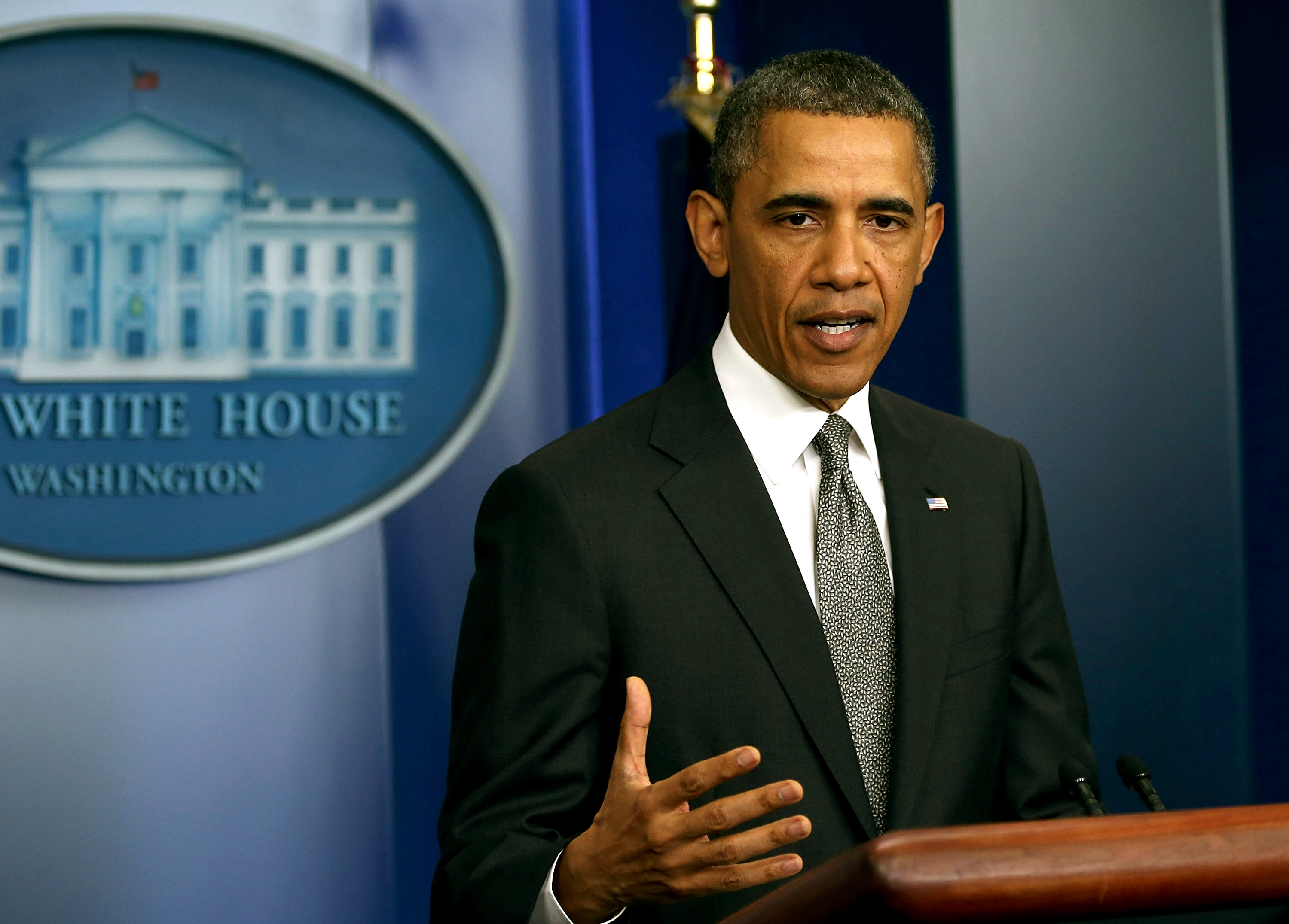 """President Obama has threatened to veto CISPA because it may not """"safeguard personal information adequately."""""""