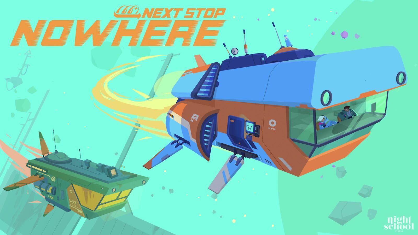 Apple Arcade's Next Stop Nowhere takes you on an intergalactic road trip