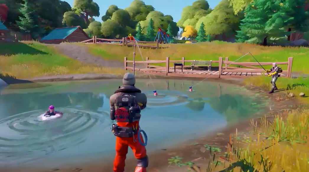 Fortnite chaper 2 fishing