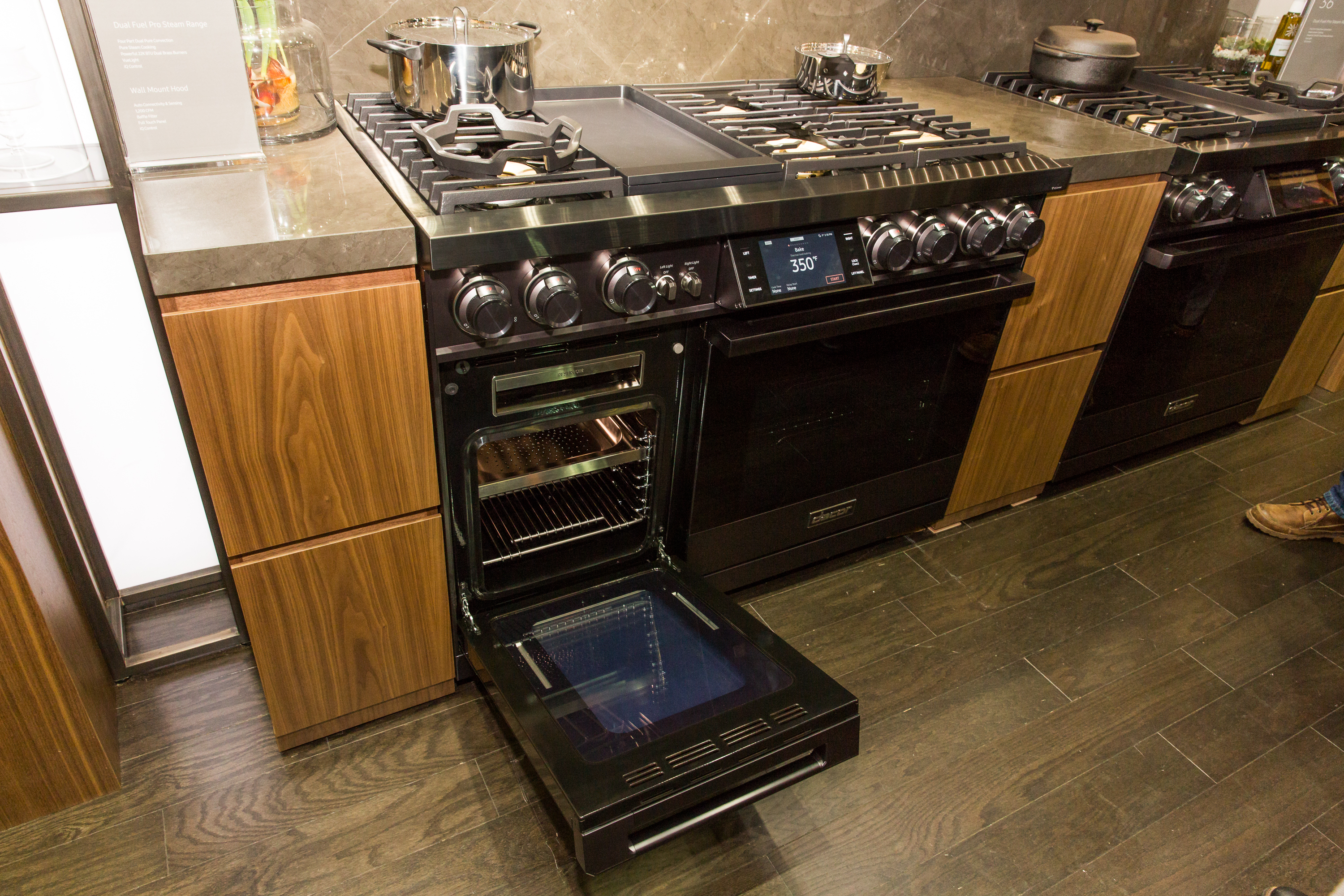Dacor Dual Fuel Pro Steam Range